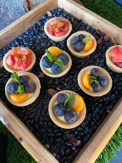 Fruit Tart Brunch Andaz Munich