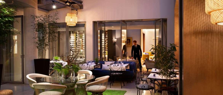 Hotel De Sers Restaurant Area