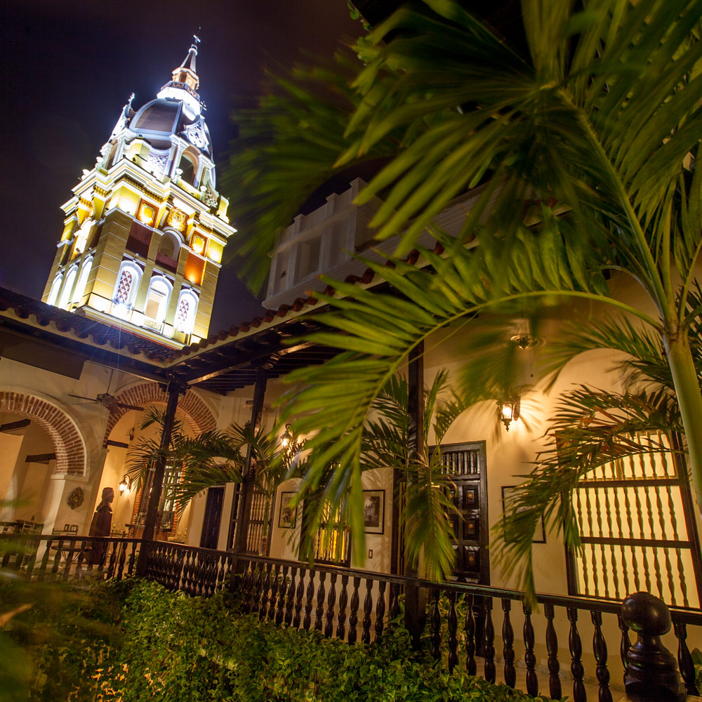 Casa de alba Cartagena Courtyard