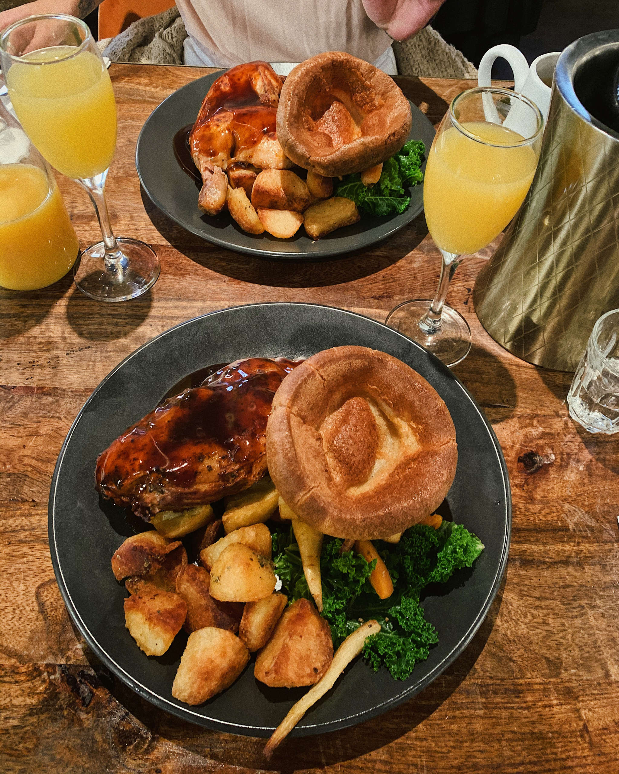 Sunday Roast with Mimosas