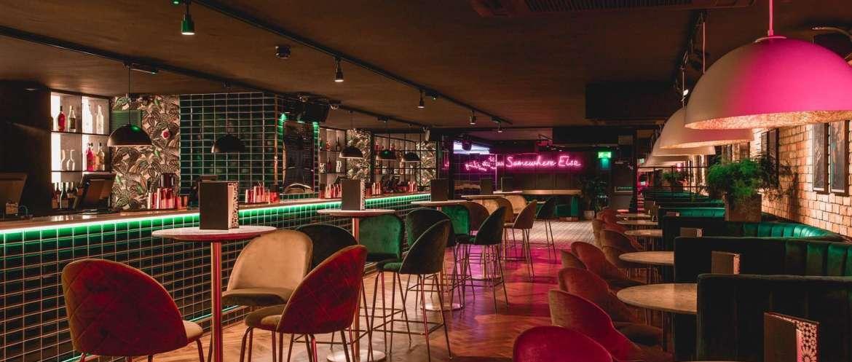 Bloom Kensington Bar and Booth Interior