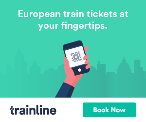 Trainline tickets